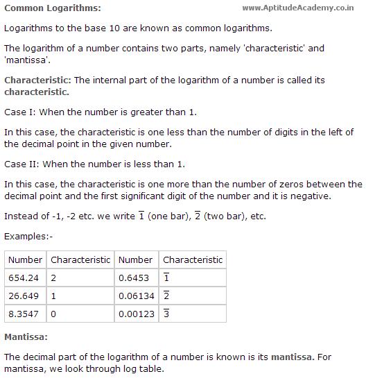 Aptitude Shortcut Formulas