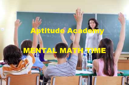 Solved Aptitude Problems