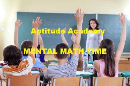Solved Aptitude Problems